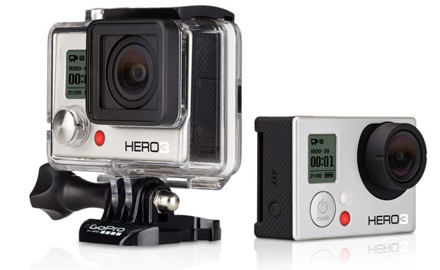 go pro hero3 white photo