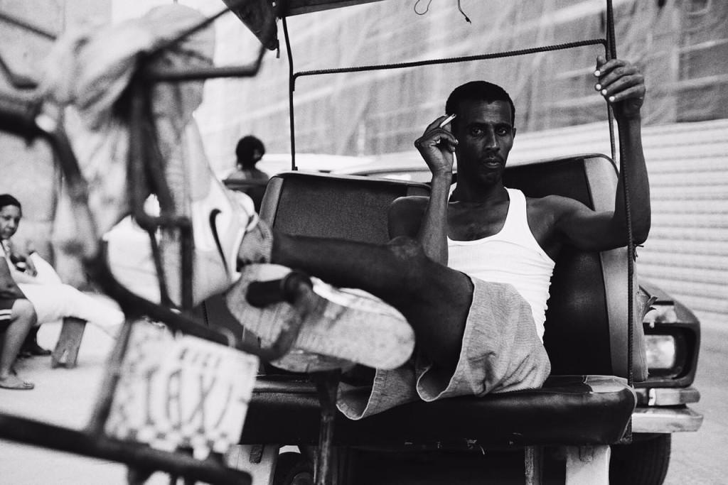 rickshaw chilling