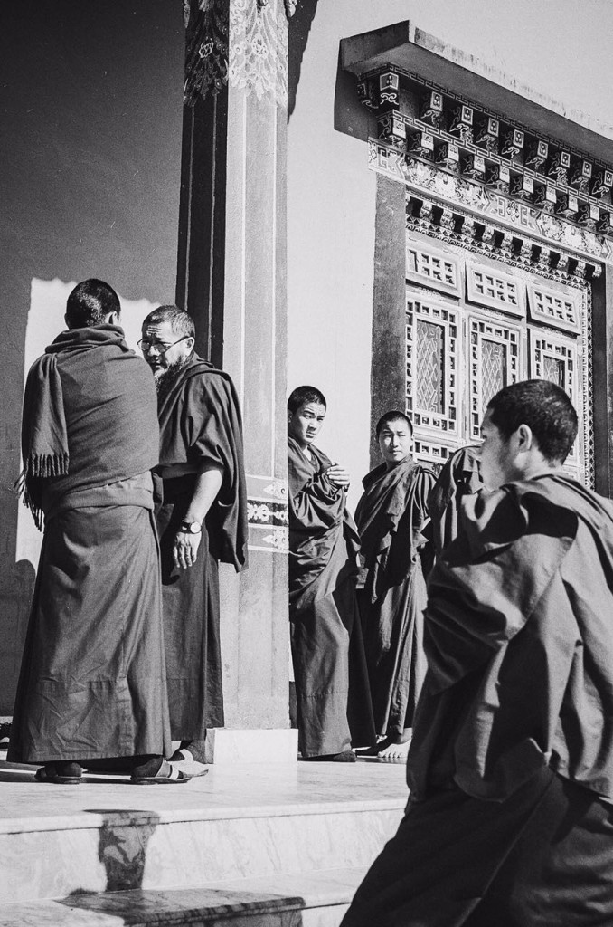 monks in robes